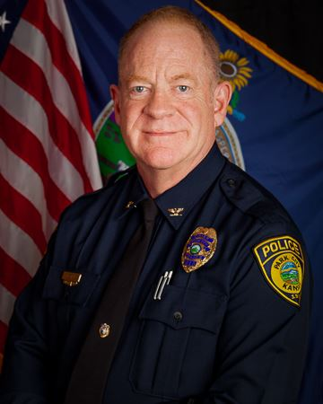 Head shot of Chief of Police Phil Bostian