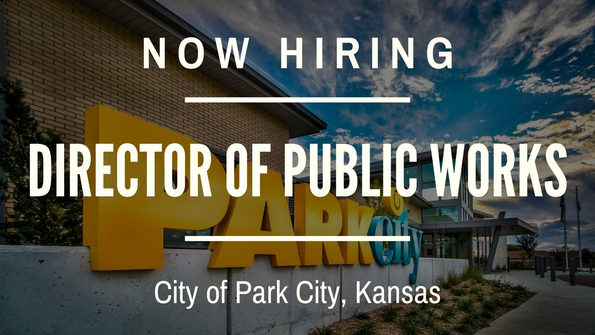 Now Hiring Director of Public Works