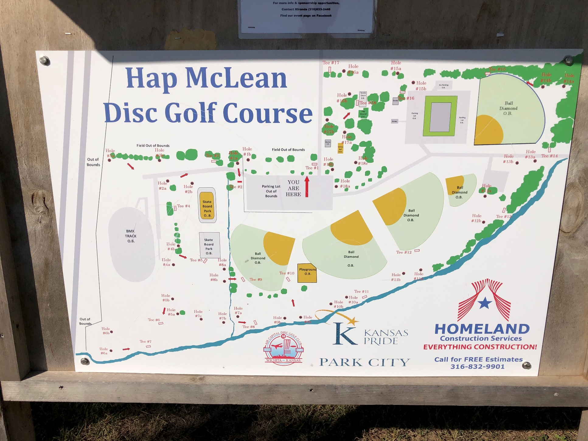 Hap McLean Disc Golf Course